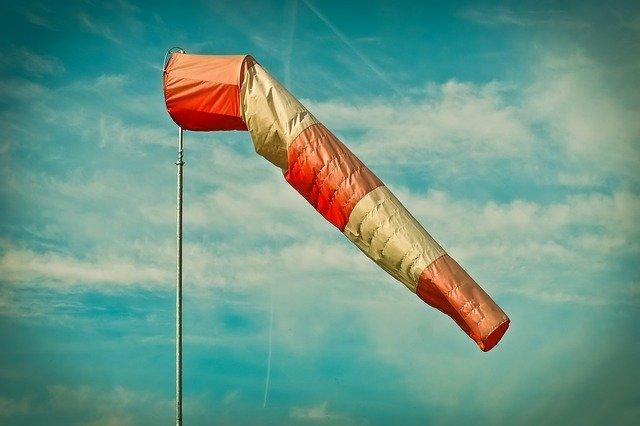 風方向インジケーター