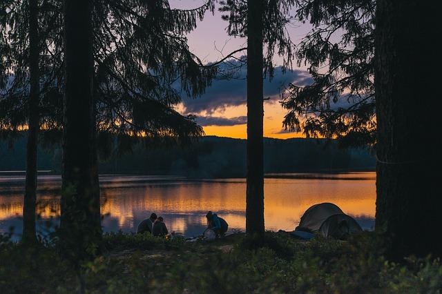 夕暮れの風景