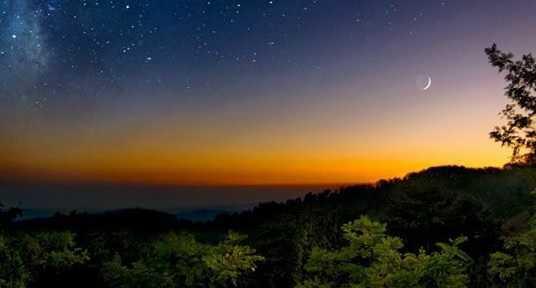 うるぎ星の森オートキャンプ場の風景