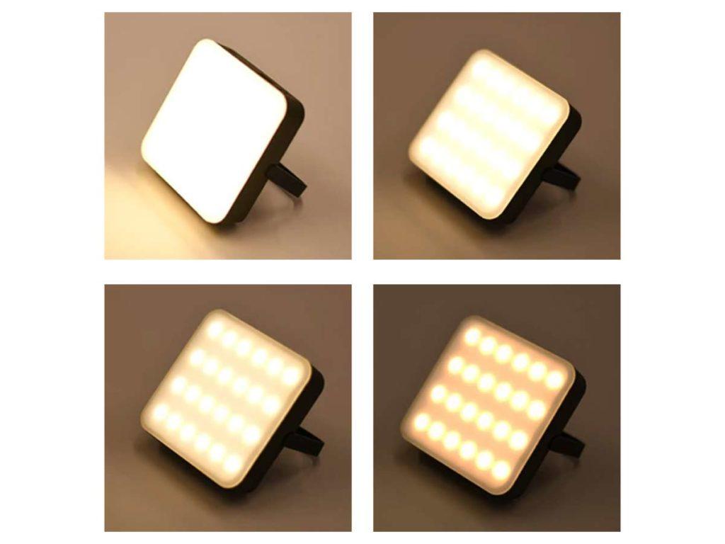 4種類の点灯モード