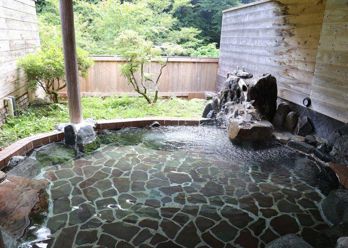 ウェルキャンプ西丹沢キャンプ場露天風呂