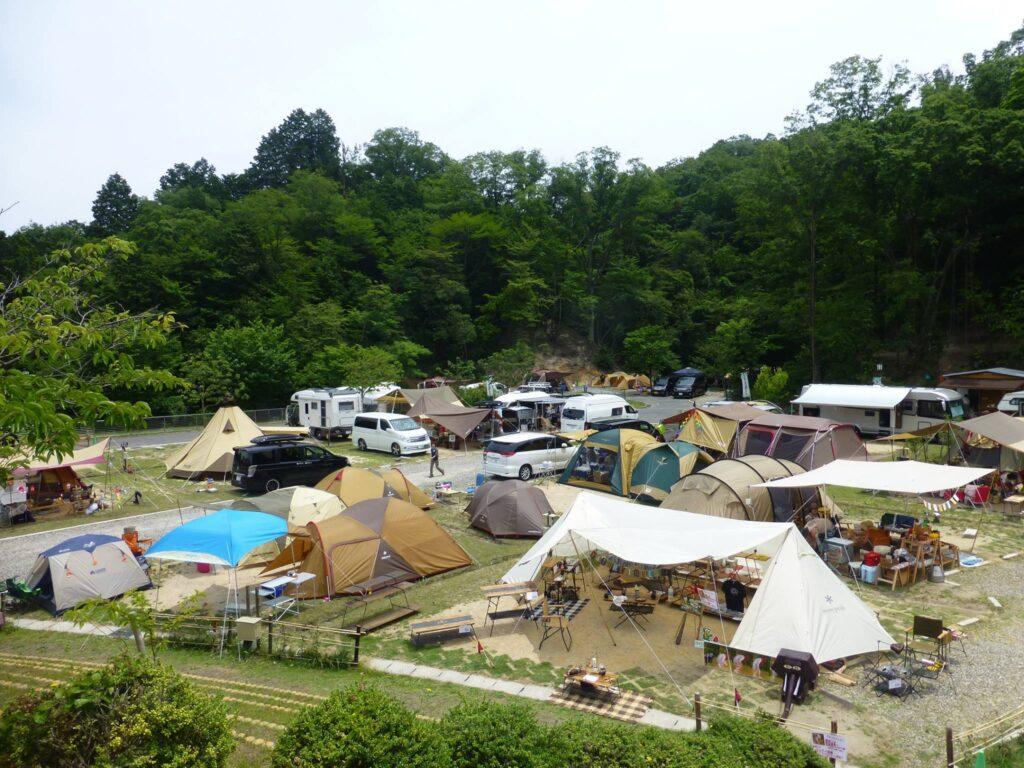 十二坊温泉ファミリーキャンプ場