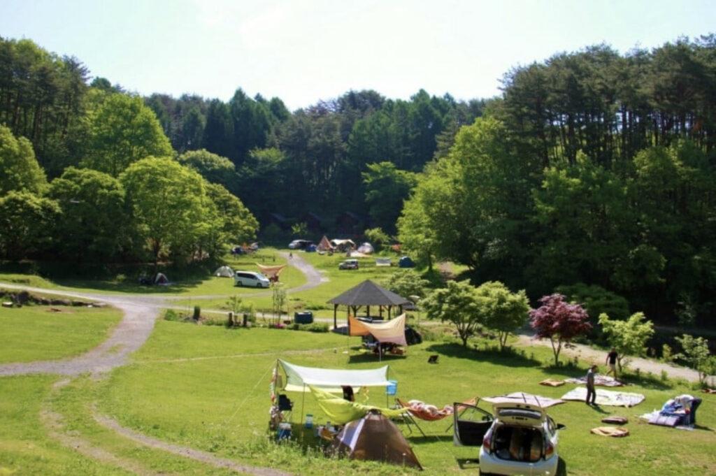 星の降る森オートキャンプ場